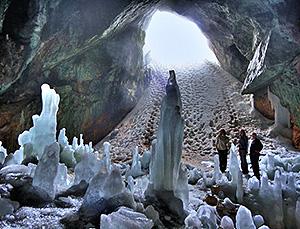 Экскурсия в Ледяную пещеру