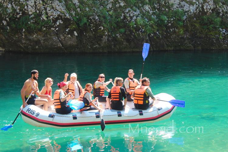 Rafting v Chernogorii (1)