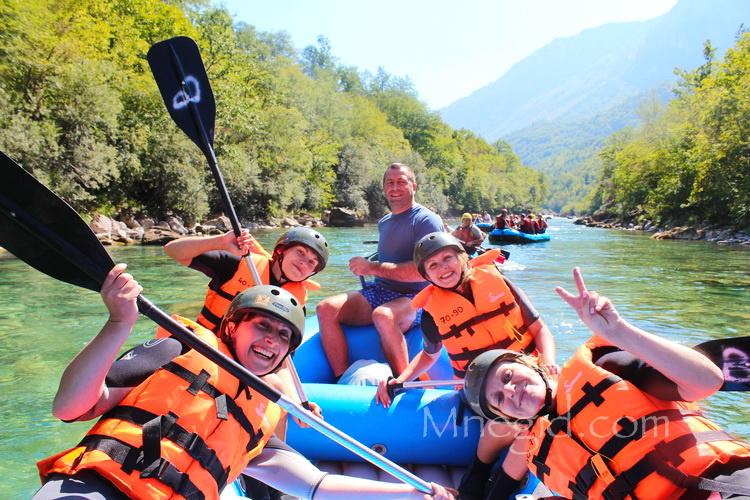 Rafting v Chernogorii (17)